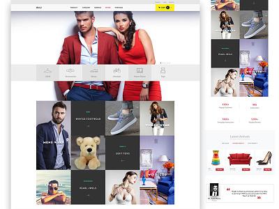 E-commerce site site e-commerce