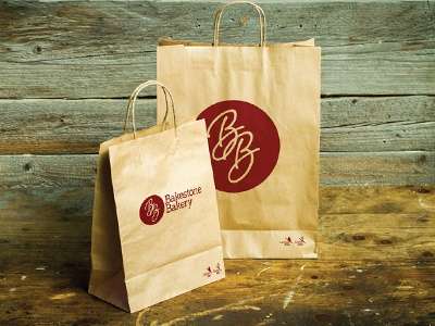Bakestone Bakery Logo bakestone bakery logo cakes gluten free dairy free branding