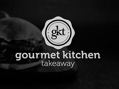 Gourmet Kitchen Takeaway gourmet kitchen takeway restaurant food logo branding