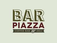 Logo Design | Bar Piazza