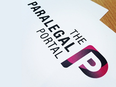 Paralegal Portal Logo identity brand branding logo