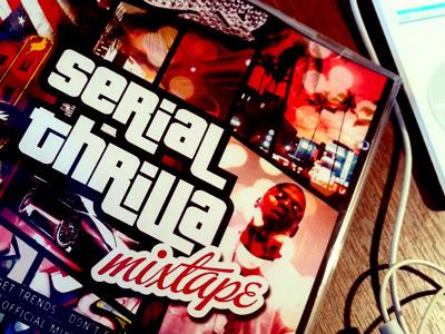'Serial Thrilla'   Mixtape By Casey Lee Jones cd music mixtape album gta clubbing house