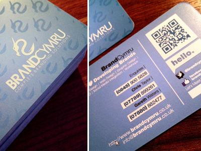 Business Card Design   BrandCymru graphic design design cwmbran