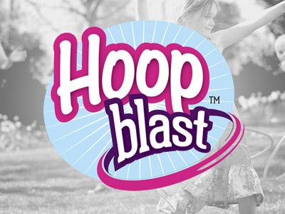 Hula Hooping Logo Concept hula hoop active