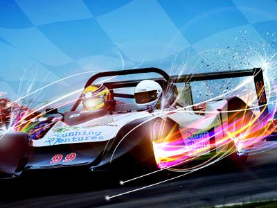 Stunning Ventures Corporate Image racing cars motorsport motorracing manipulation speed
