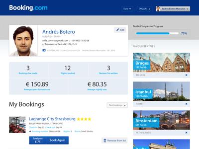 Booking profile peq