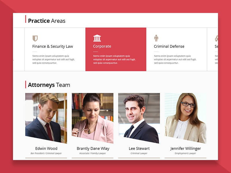 Lawyers Practice Areas Web Design solicitor legal adviser legal lawyer law firm court consultant law company barrister attorney advocate