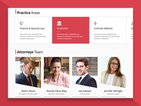 Lawyers Practice Areas Web Design