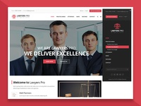 Sidebar Menu Design - Law WordPress Theme solicitor legal adviser legal lawyer law firm court consultant law company barrister attorney advocate