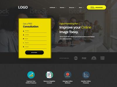 Header Yellow - Online Reputation Management