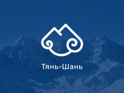 """""""Tian Shan"""" - Sky Mounts Logo logo tian shan"""