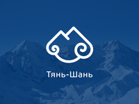 """Tian Shan"" - Sky Mounts Logo"