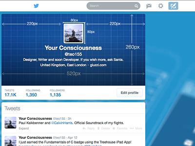 Twitter Profile Design design twitter layout