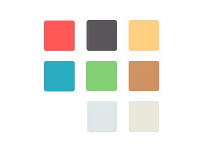 New Colour Palette for re-branding rebrand brand colors colours palette colour palette color palette color colour