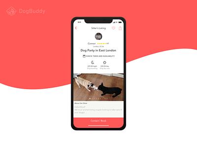 DogBuddy - Adapting to iPhone X ten iphone ten apple ios11 ios new dogs dog iphonex iphone