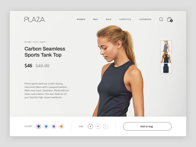 Shopping Experience Concept ui shop ecommerce