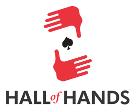 Hall of Hands Logo poker video client