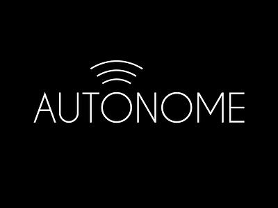 Autonome Driverless Car logo dailylogo dailylogodesign dailylogochallenge