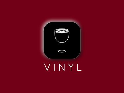 App Logo Vinyl logo applogo dailylogo dailylogochallenge dailylogodesign