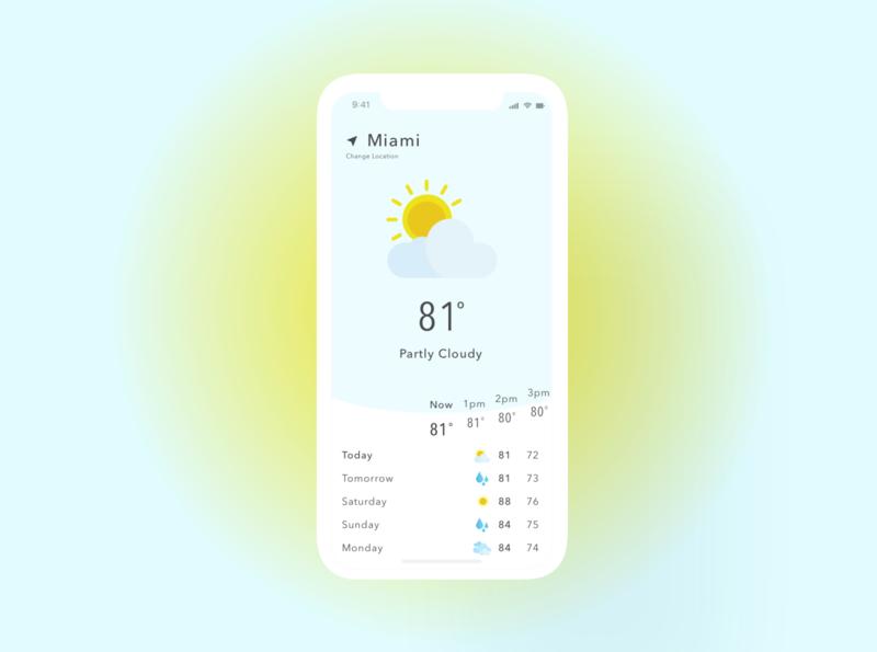 Weather weather app mobile app design app design mobile design mobile app weather uiuxdesign uiux uidesign uxuidesign uxui uxdesign ux design ui dailyuichallenge 037 dailyui
