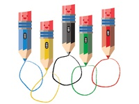 Mr. Pencil's Olympic Friends