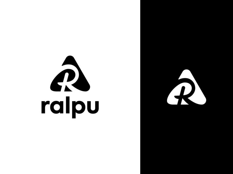 Ralpu logo logo symbol logodesigner logodesign outdoor ultra running watches passion gear sports love nature shop lifestyle active mountains