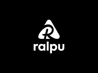 Ralpu logo design watches ultra running symbol sports shop passion outdoor nature mountains love logodesigner logodesign logo lifestyle gear active