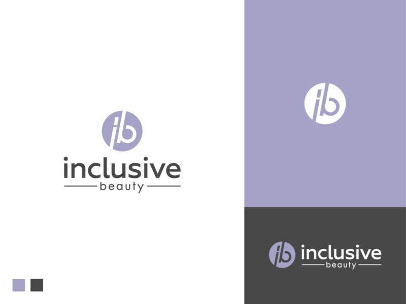 Inclusive beauty logo mark logo identity branding logodesigner symbol logodesign aromatherapy vegan oils candles beauty inclusive