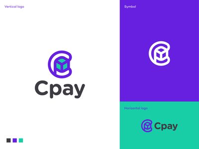 Cpay AR app logo identity app icon software money transfer app payment ar app logo ar app logo augmented reality app branding logodesigner logodesign logo