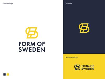 Form of Sweden logo proposal scandinavia sweden nordic furniture modern logo design simple clean minimal mark identity branding logodesigner symbol logodesign logo