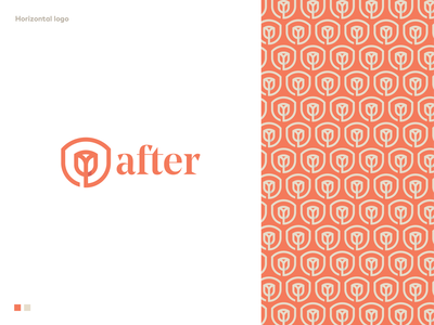 After unused logo proposal design orange empathy trust trustworthiness people information resources flower branding logodesigner mark symbol logodesign logo