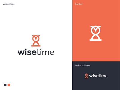 Wisetime logo consulting ai crypto tech tech startup saas simple creative logo startup software app application app icon branding logodesigner mark symbol logodesign logo time wise