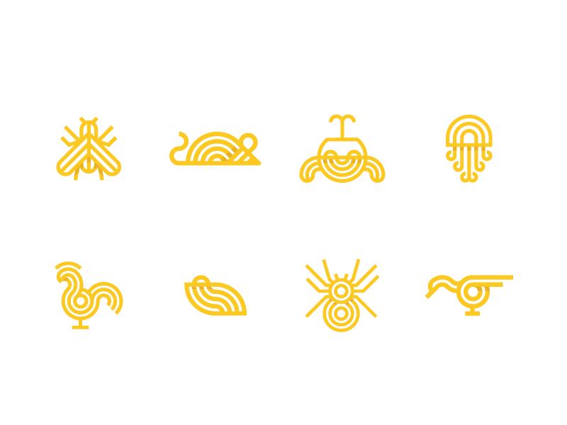 Animal logos v2a