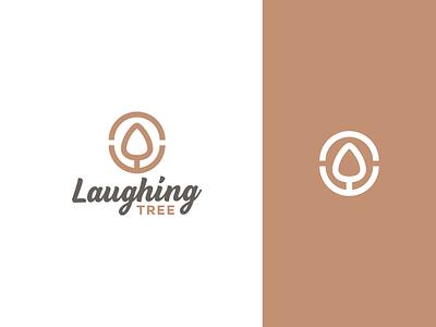 Laughing Tree Guitars Logo music music logo classical music classical acoustic jazz guitar guitar pick laughing tree branding mark symbol logo