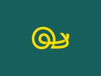 Yellow Snail Logo
