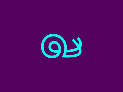 Snail Logo Design speed slow snail app nature animal logodesign mark logo