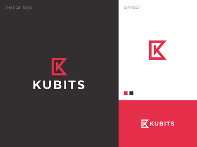 Kubits Logo company logo company arbitrage trading crypto identity branding logodesign symbol logo
