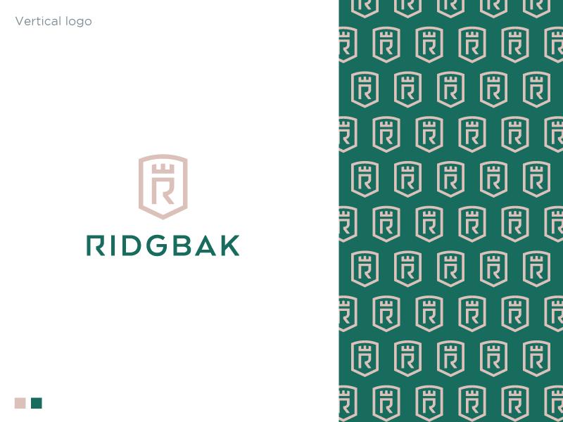 Ridgebak Proposal royal logo luxury logo holding company insurance logo accounting consulting management shield logo pattern shield logodesign logo
