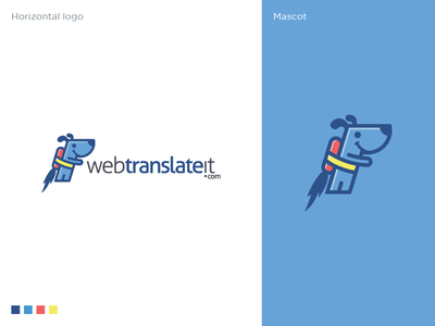 Webtranslateit Logo Design