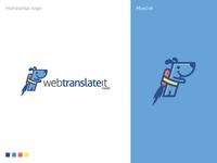 Webtranslateit Logo Design