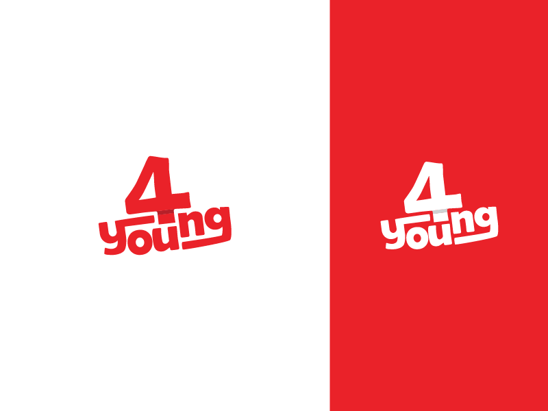 4young logotype promo ads campaign promotion marketing agency telecommunications logotype young