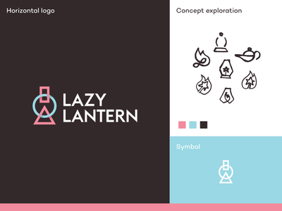 Lazy Lantern logo