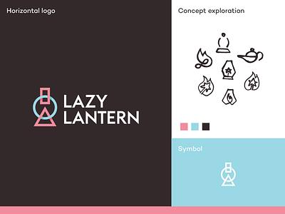 Lazy Lantern logo automate improve app icon app logo data highlights reports product analytics ux ui user behavior insights analytics application app software