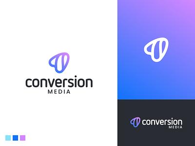 Conversion media unused proposal growth content marketing roi brand awareness marketing agency software comapny media conversion branding logodesign