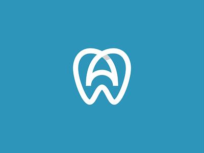 dr anita symbol logo design doctor logo branding teeth tooth stomatology dentist dental clinic care