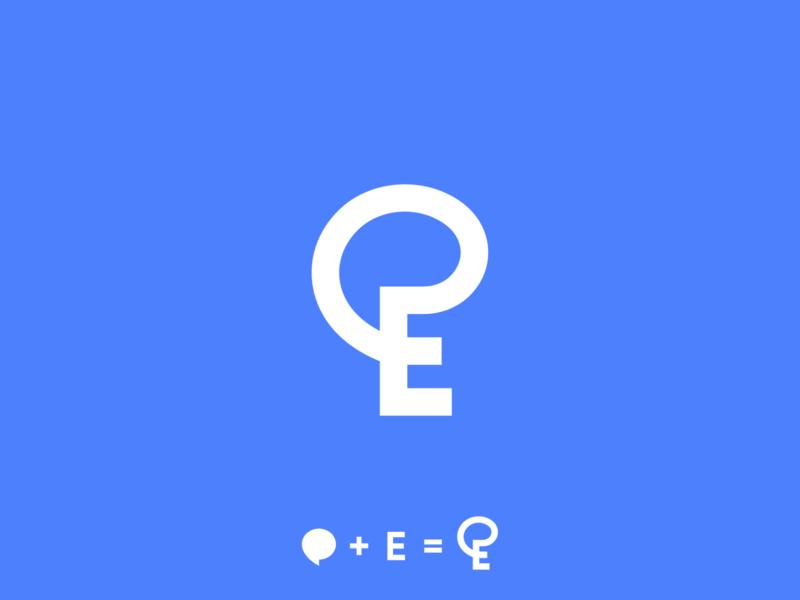 ChatEasy logo design communication symbol branding logodesigner logodesign startup logo startup software app icon app logo chat app
