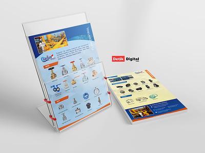 simple catalog brochure flyer poster company profile design branding company catalog design catalog