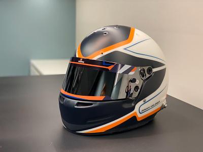 adabay Racing helmet racing logo art design branding