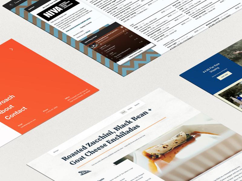 Web Mockups php css front-end developer front-end design frontend web inspiration web developer web design uxui ui design ui derek mohr