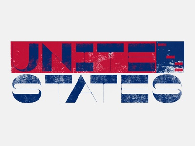Unite The States! v.1 typography michigan covid19 coronavirus 2020 libertarian democrat republican fuck trump unite politics election 2020 election voting vote united states derek mohr